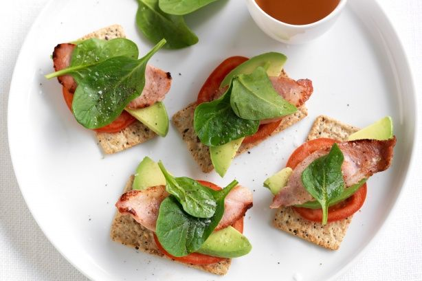 BLAT - This healthy version of the traditional BLAT is proudly brought to you by Arnott's Vita-Weat and Taste.com.au.