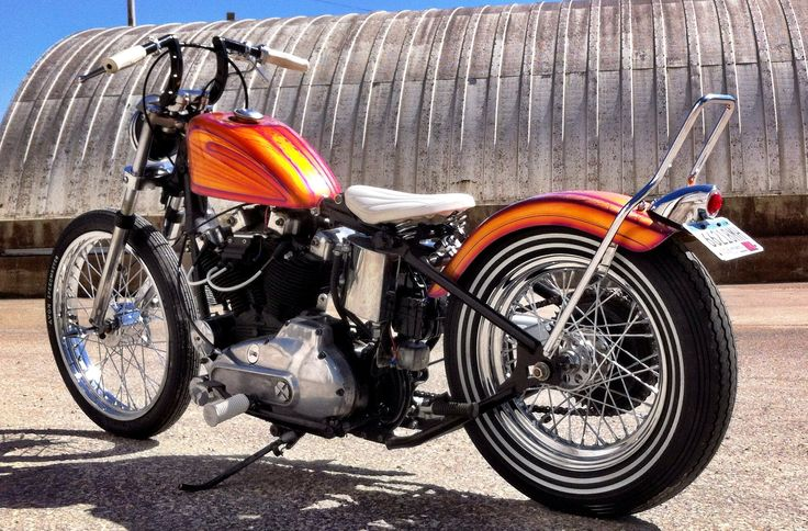 C D Ca E B B Fe Rust Favorite Things on 1971 Ironhead Sportster
