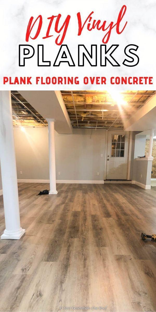 Rigid Core Vinyl Plank Flooring In 2020, Laying Vinyl Plank Flooring In A Basement