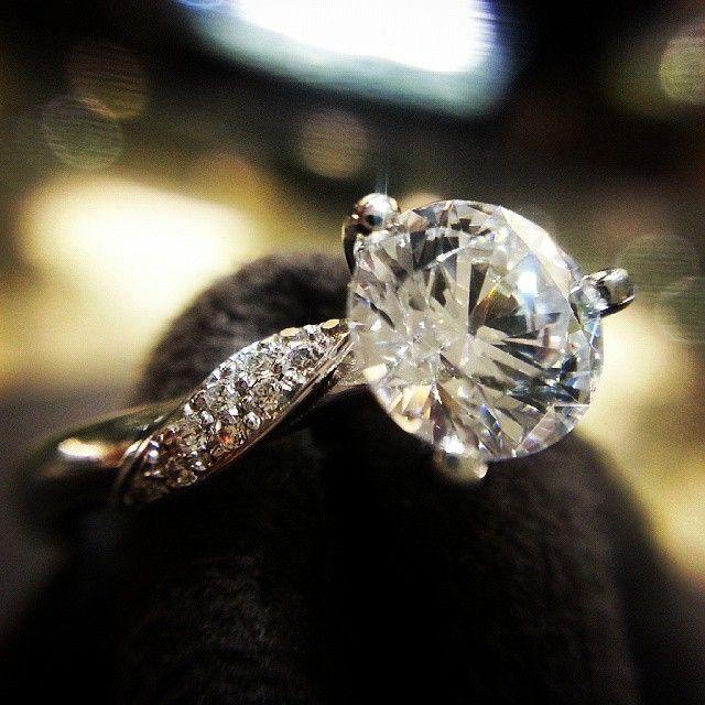3 Prong Diamond Ring #ring #wedding #diamondring #예물 #반지