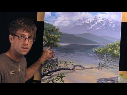 How To Paint A Landscape - Part 6 - Final Details