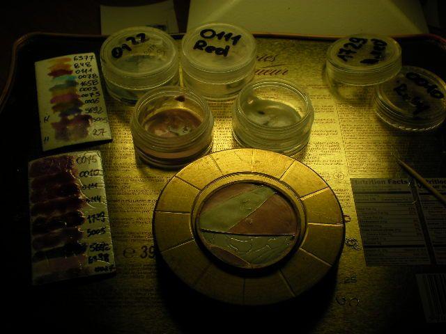 Enamel cloisonne. ( dial watch, icon, etc....) 7928238a141c8e664621919e77bcdefd