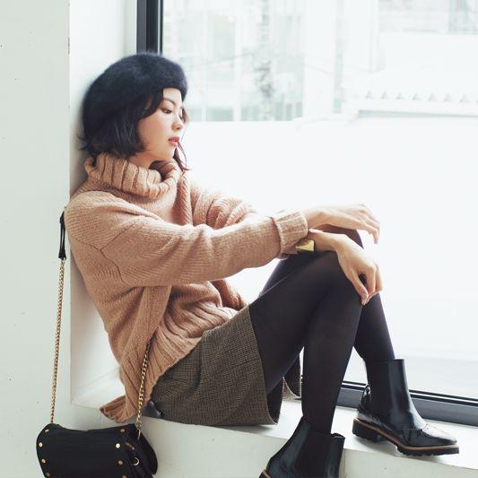 【今日のコーデ/矢野未希子】内勤オンリーの月曜日はフレンチシックな最愛コーデ♡ | ファッション(コーディネート・流行) | DAILY MORE