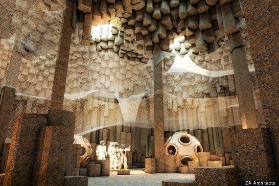 Future Underground Base Mars | The Mars Underground City ...