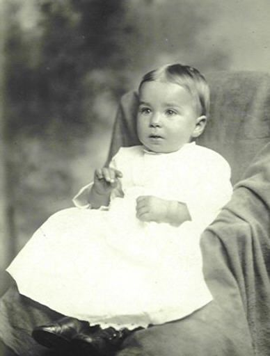 """Eino Viljami Panula ~13 mos old.  (Photo taken Mar 23, 1912) Perished aboard Titanic, last victim to be identified in 2002. Previously known as the """"Unknown Child"""" and buried in Halifax by the sailors who found his body."""