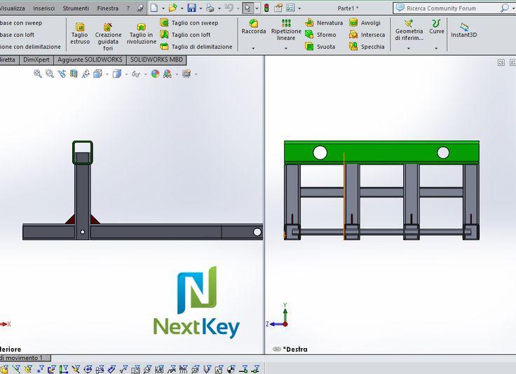 Next Key - Progettazione e costruzione di strutture in acciaio in conto terzi per produttori di magazzini automatici e impianti di movimentazione industriale