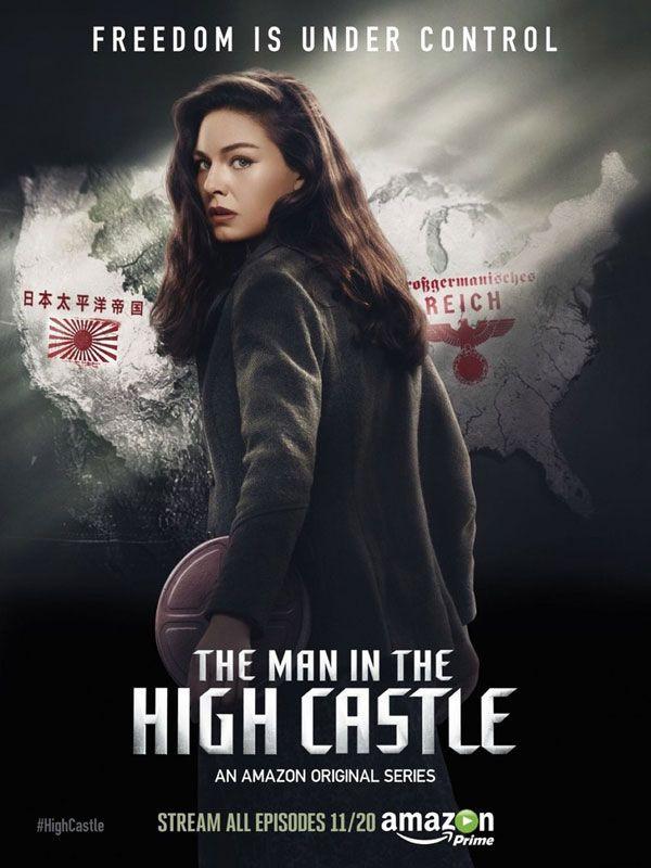 The Man In The High Castle une série TV de Frank Spotnitz avec Alexa Davalos…