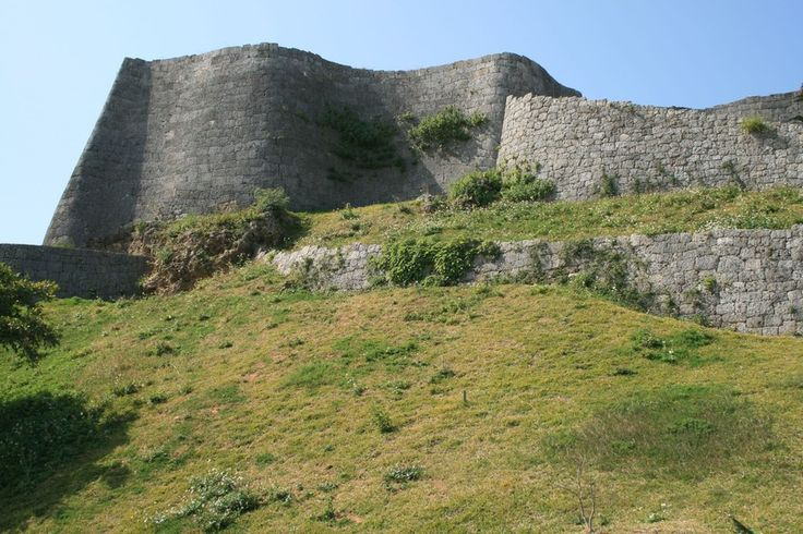 Katsuren Castle #japan #okinawa one of several castle ruins still viewable on Okinawa-done it!
