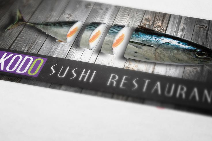 KODO SUSHI'S LOGO by FUNKTIONAL