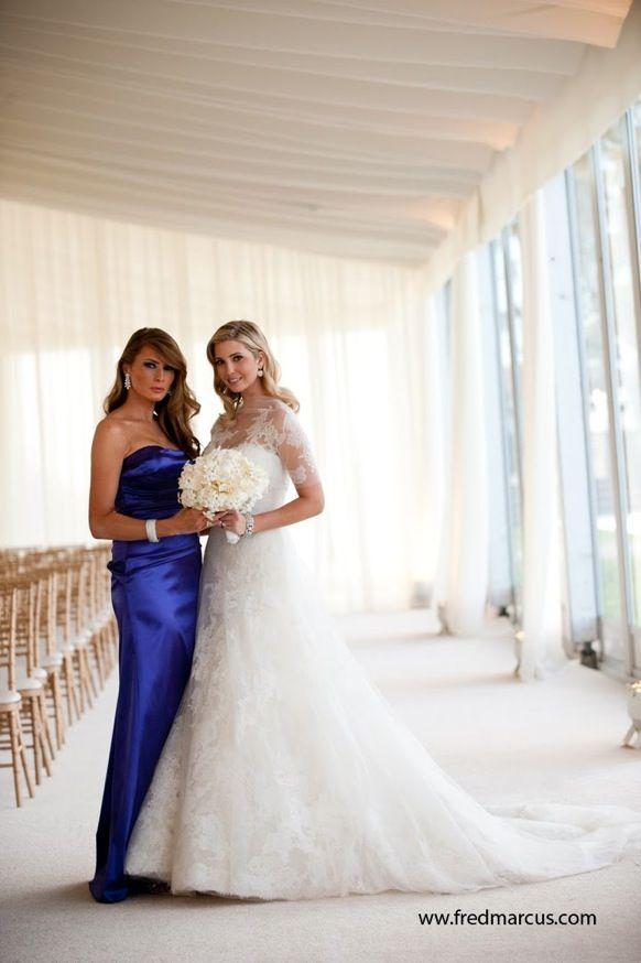 Tiffany Trump at Ivanka's Wedding | Ivanka Trump Wedding Dress