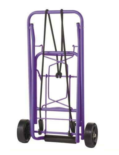 Luggage Carts 164797: Folding Purple Luggage Cart House Outdoor Indoor Wheeled Storage Organizers -> BUY IT NOW ONLY: $38.95 on eBay!