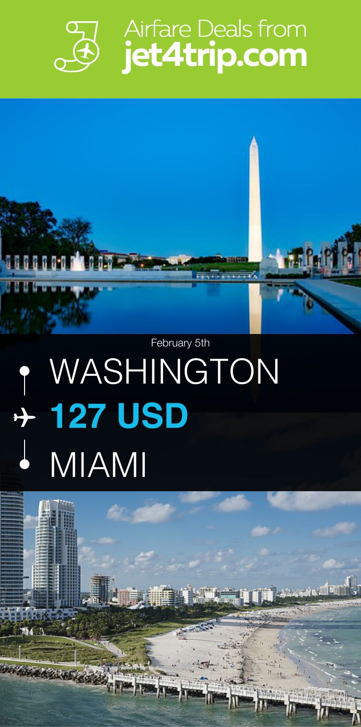 Flight from Washington to Miami for $127 by American Airlines #travel #ticket #deals #flight #WAS #MIA #Washington #Miami #AA #American Airlines