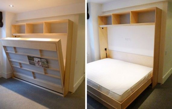 23 best murphy beds images on pinterest murphy beds for Murphy beds for small spaces