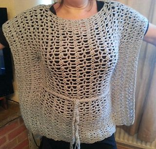 #Crochet Top. Kimono Top Pattern. Easy Skill Level & Includes Plus Sz! PDF Download
