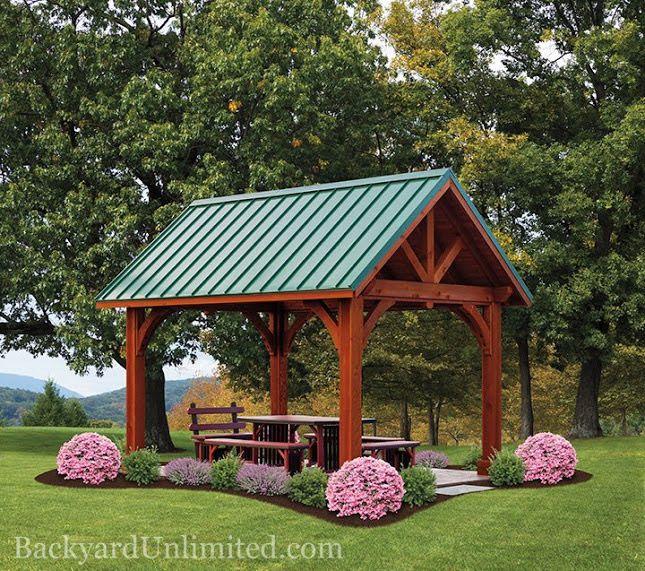 25 Best Ideas About Backyard Pavilion On Pinterest