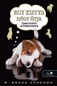 Egy kutya négy útja könyv borító
