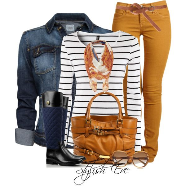 Second Yoga Jeans Mid Rise Skinny Mustard Jeans; MANGO Jacket; H&M Top; Rosalie Riding Boot; Lovely #outfit