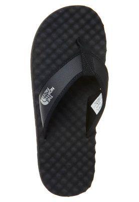 DLL Rainwear - The North Face - Men's Base Camp Flip Flop Leather Sandals  Black,