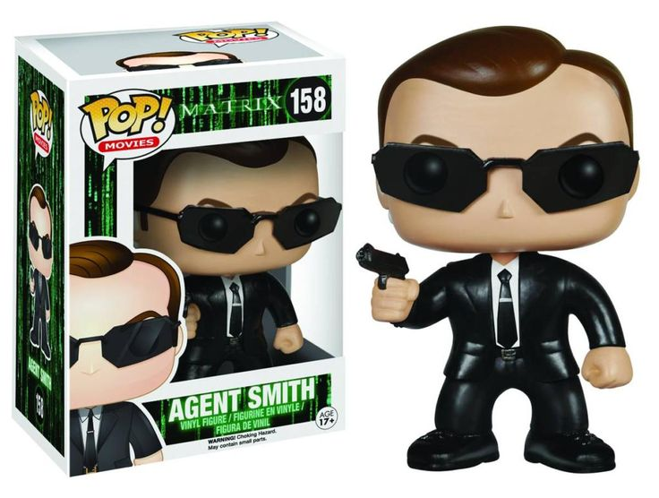 Figurine Pop Agent Smith Matrix - N°158 @ReferenceGaming