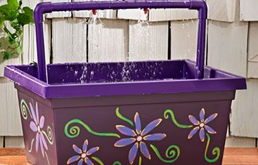 Hummingbird DIY Mister Birdbath   Birds & BloomsBirds Shower, Diy Birdbaths, Mister Birdbaths