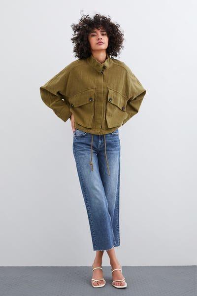 17a8991f3c ZARA - Female - Rustic jacket - Tobacco - Xs in 2019   Products ...