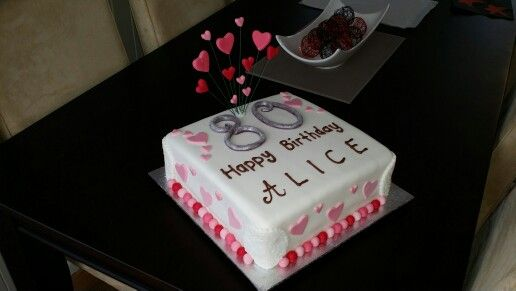 80 cake