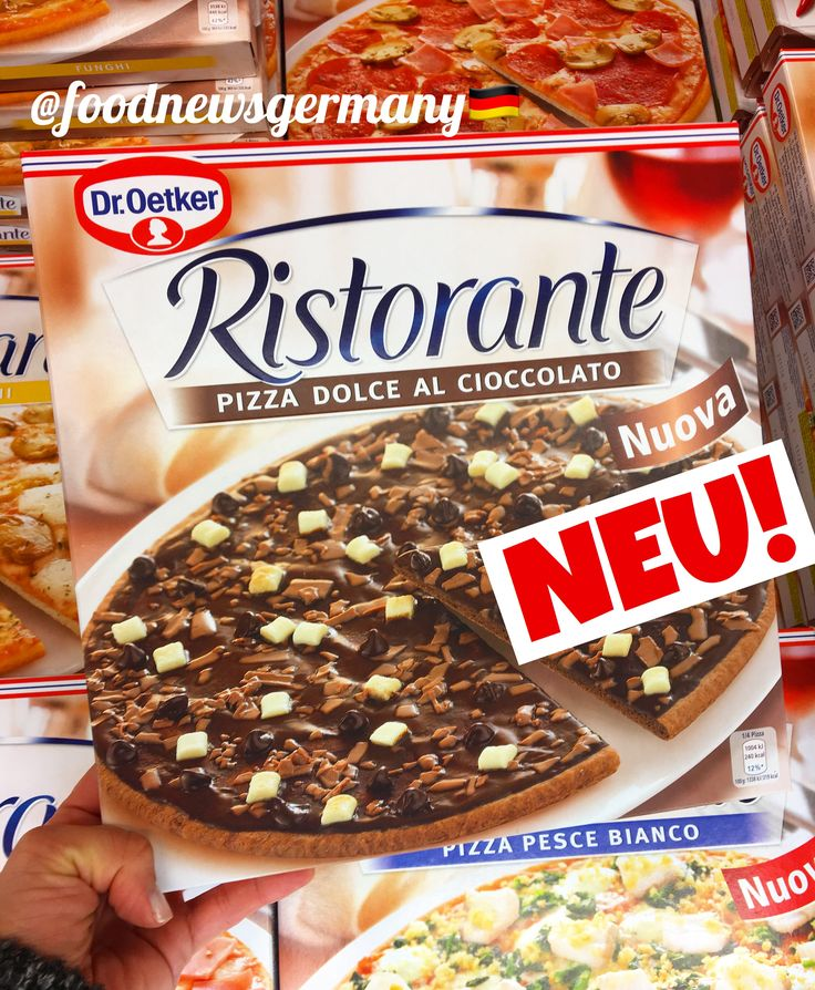 Schokoladenpizza
