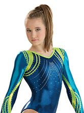 Elegant Encore Long Sleeve Leotard from GK Gymnastics