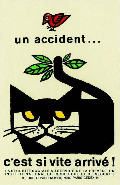 Bernard Chadebec – «Un accident...c'est si vite arrivé!», 1974.