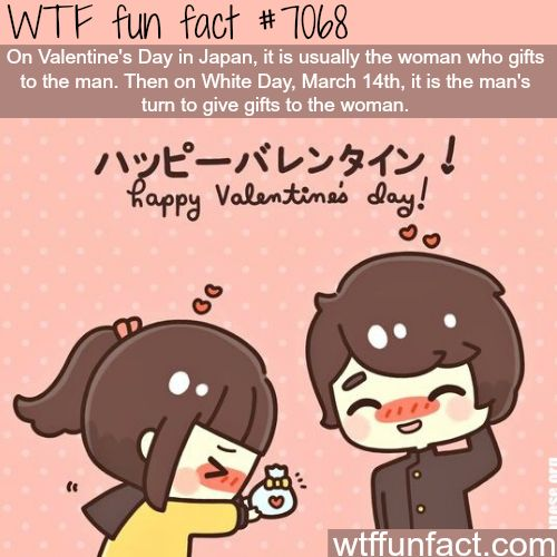 Valentine's Day in Japan - WTF fun facts
