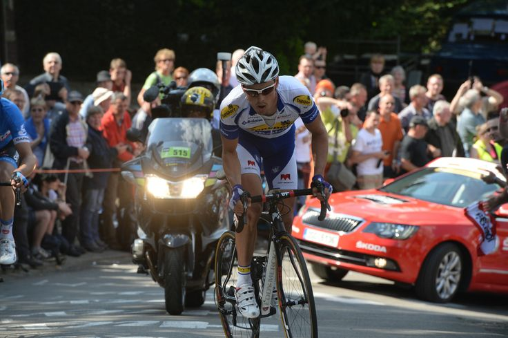 Van Hecke has earned the WorldTour's golden ticket | La Flèche Wallonne 2014 – five observations | It was little suprise to see Preben Van Hecke out front at La Fleche Wallonne, earning hours more television coverage for Topsport-Vlaanderen. pic: ©Sirotti