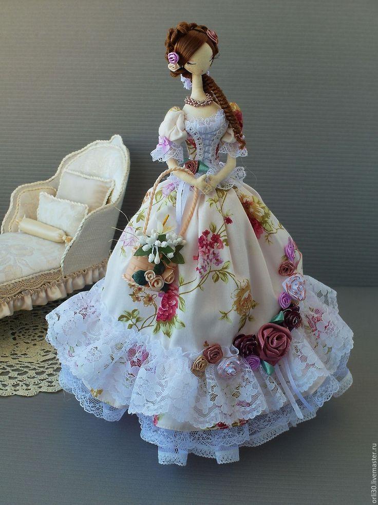 Купить Тряпиенса. Виктория - бледно-розовый, текстильная кукла, тряпиенсы, корейские тряпиенсы, тряпиенс, тряпиенса