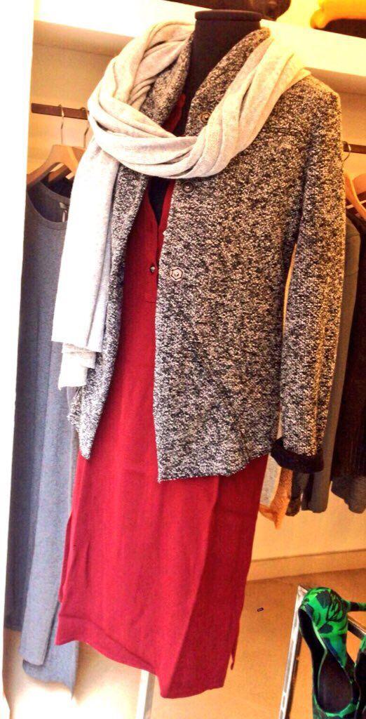 Sciarpa lana-cashmere! Giacca mélange! Abito serafino! #laltrastoria
