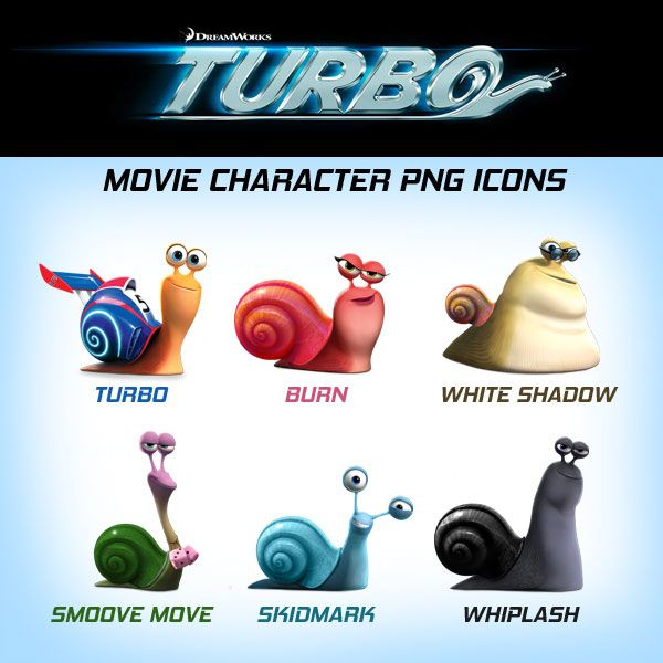 Turbo-Movie-2013-Character-Icons