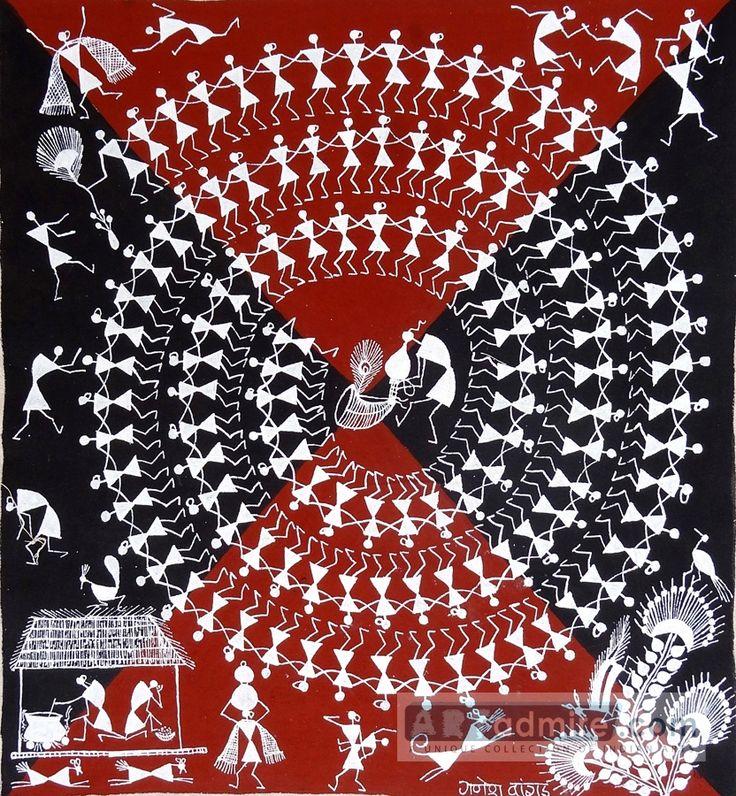 warli paintings | Home > Cultural & Folk Art > Warli celebrations