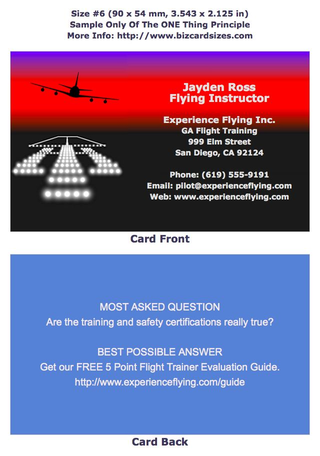 The 9 best Business Cards -- Size #6 images on Pinterest | Business ...