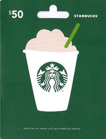 Starbucks Gift Card $50: Amazon.com: Gift Cards