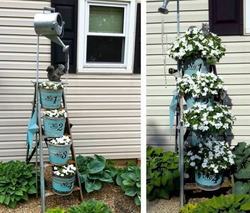 Marvelous Garden Ladder Projects You Can Do!