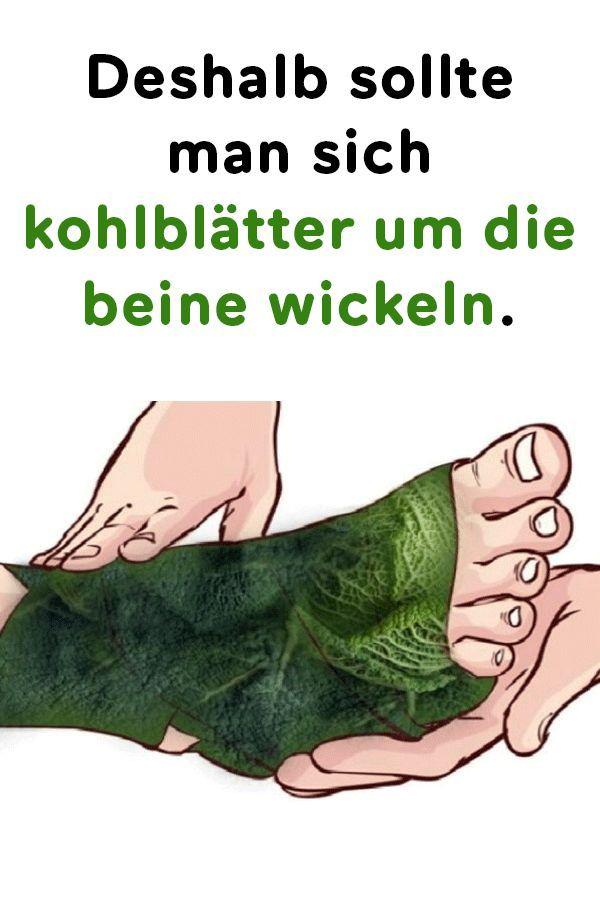 Deshalb sollte man sich Kohlblätter um die Beine wickeln – Aensinger