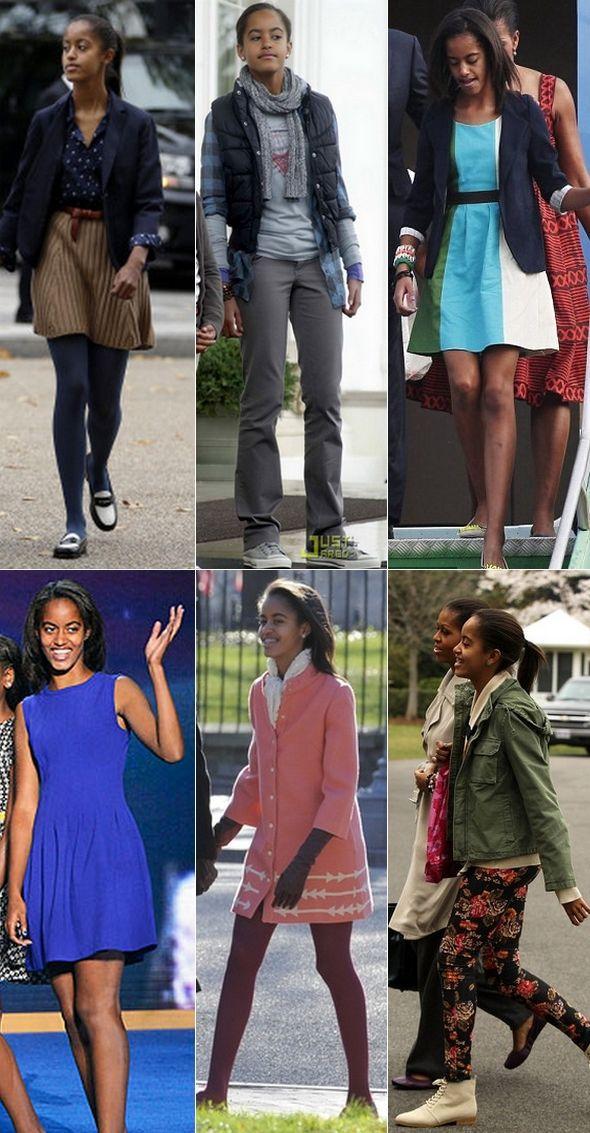 Malia Obama Lollapalooza | Estilo filha do Obama