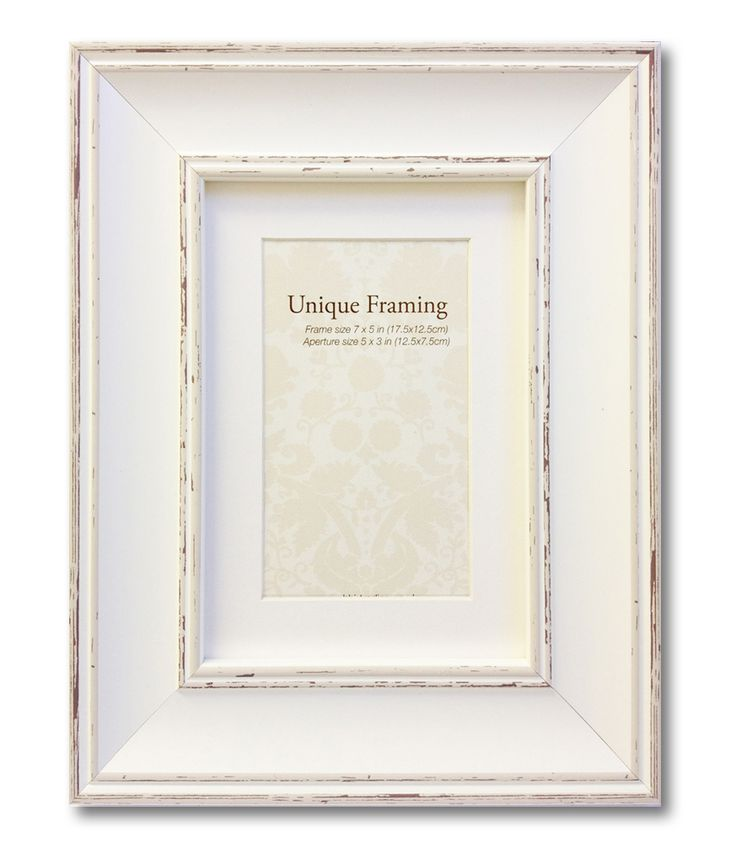 Decorus Home Decor - Antique White  Shabby Chic  Photo Frame, £6.50 (http://www.decor-us.co.uk/accessories/frames/antique-white-shabby-chic-photo-frame/)