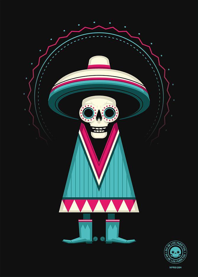 Dia de Los Muertos - nimro; j'aime bien, ca fait neutre, en general on les fait mechants