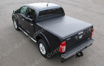 Tri-Fold Soft Tonneau Cover for Toyota Hilux Mk7 D/C (2011 on)