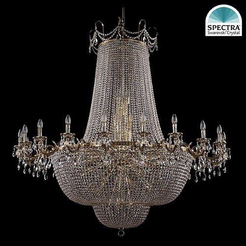 Люстра Большая Bohemia Ivele Crystal 2022/160-170/GB swarovski - купить по лучшим ценам в интернет-магазине Декор и Свет