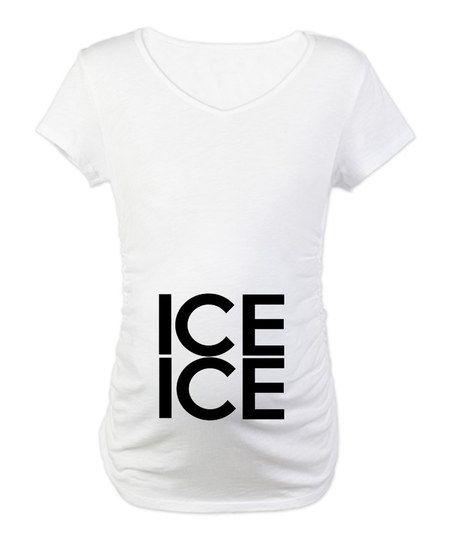 Baha!  Great maternity shirt!