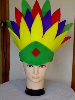 Gorros Locos, Sombreros de Foamy