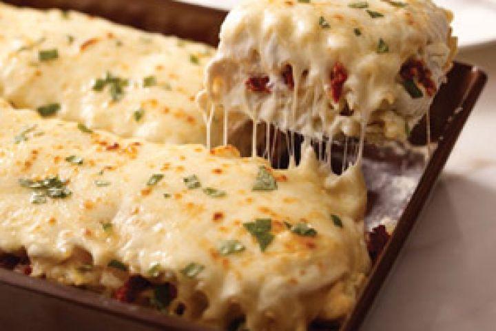 Creamy White Chicken & Artichoke Lasagna III Recipe | food ...