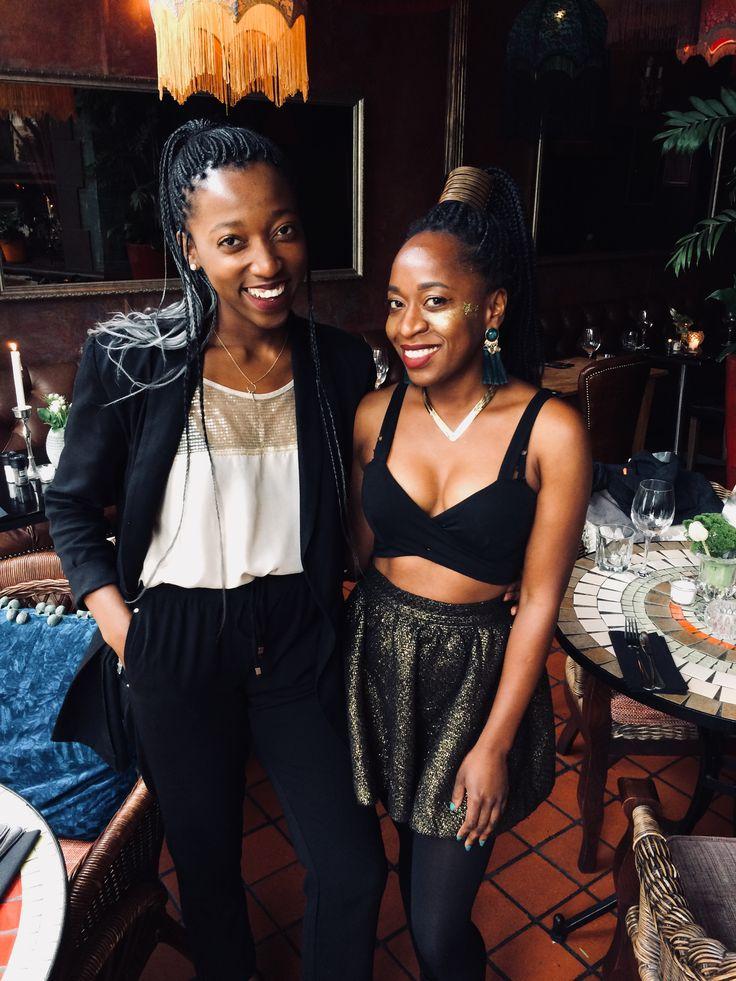 New Year's Eve with my girl  #happy #fashion #photography #bloggers #bakedbrowniez #melanin #bgki