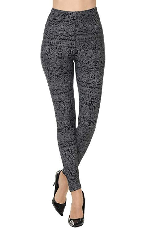 e9e7807ebfbe2 #VIV Collection Popular Printed Brushed Buttery Soft #Leggings Regular Plus  40+ Designs List 1