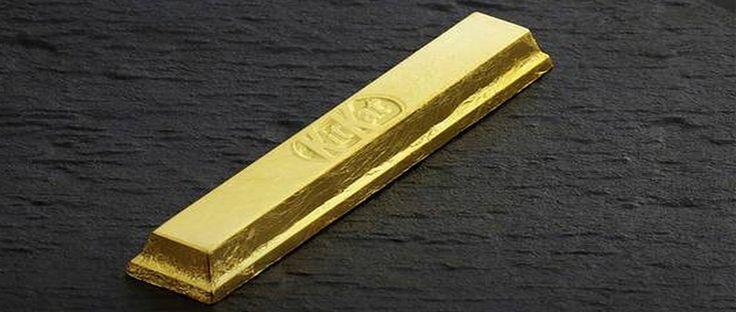 Nestle Jepang, sebuah perusahaan produsen makanan Jepang akan segera meluncurkan KitKat berlapis emas asli.